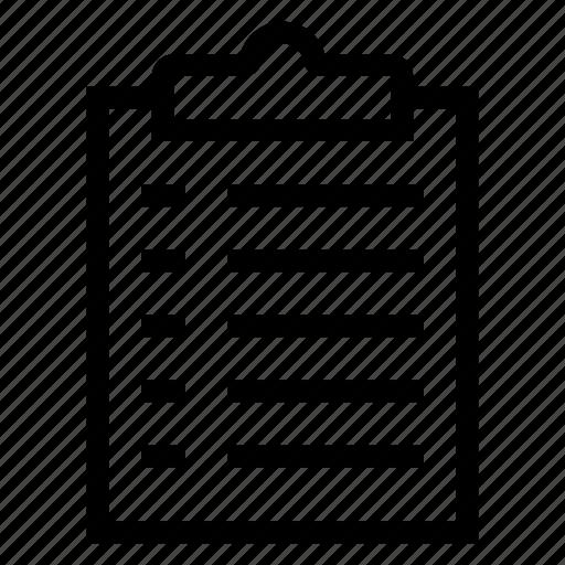 Checklist, document, list, listed, menu, paper, wishlist icon - Download on Iconfinder