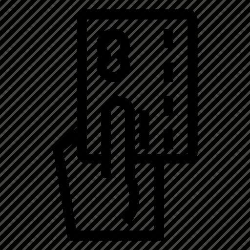 Credit, debit, finger, gesture, money, payment icon - Download on Iconfinder