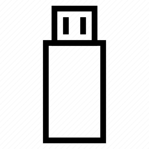 cable, drive, flash, plug, usb, usbdrive, usbport icon