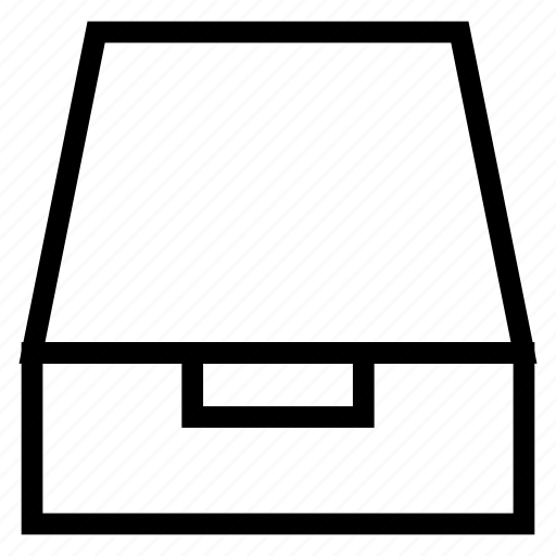Box, drar, email, inbox, insert, mailbox, message icon - Download on Iconfinder