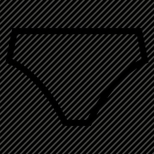 Clothes, clothing, fashion, manunderwear, pants, underwear, underwearwoman icon - Download on Iconfinder