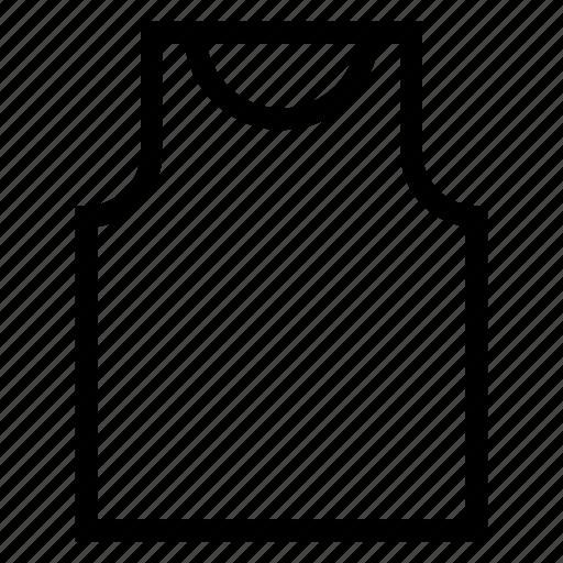 clothes, clothing, fashion, jacket, manvest, shirt, vest icon