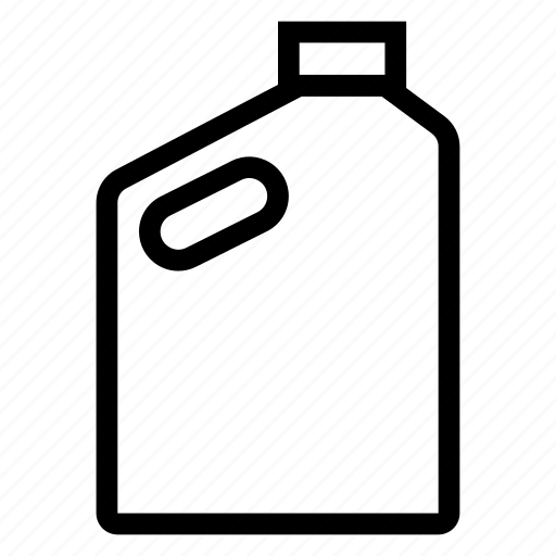can, fuel, gas, oil, plastic, water icon