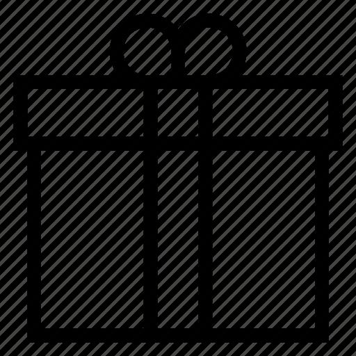 Birthday, box, christmas, gift, present, presentation, ribbon icon - Download on Iconfinder