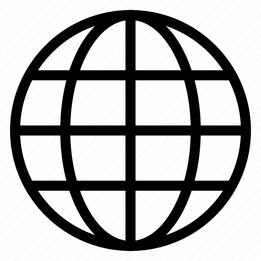 Worldmap, globe, global, internet, earth, world icon - Download
