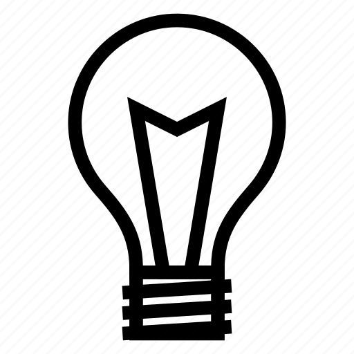 Lightbulb, idea, blubconcept, solution, bright, bulb icon