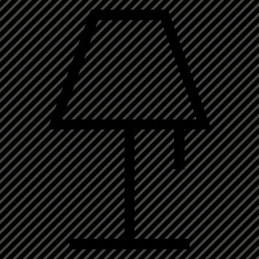 bulb, desklamp, electric, lamp, light, lightbulb, table icon