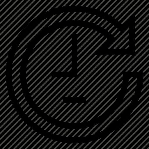 Customer, dayandnight, service, clock icon