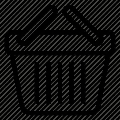 Basket, buy, cart, picnicbasket, shop, shopping, shoppingbasket icon - Download on Iconfinder