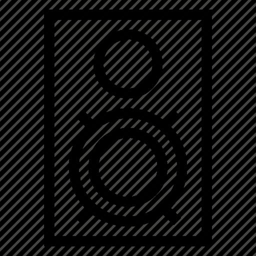 audio, music, presentation, sound, speak, speaker, volume icon