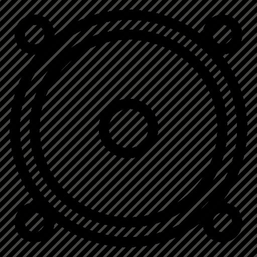 audio, dj, music, sound, speaker, speakersvector, volume icon