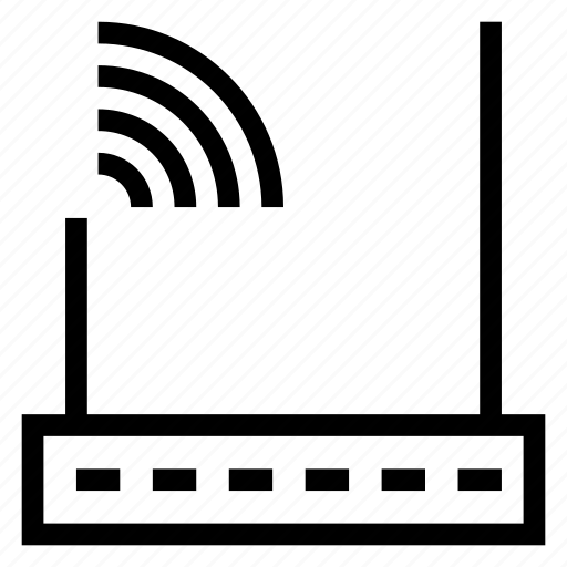Network, signal, wifi, wireless, connect, internet, wifizone icon