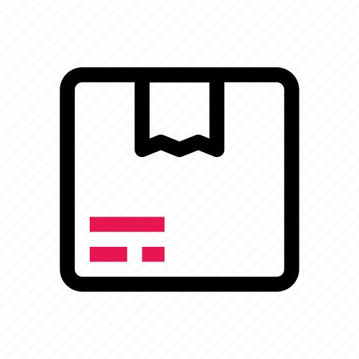 box, ecommerce, package, parcel, shipping, shopping icon