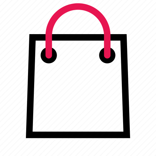 bag, cart, ecommerce, shopping icon