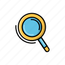 find, search, view, web, zoom icon