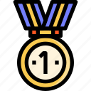 award, champion, medal, shopping, top, winner icon