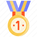 award, champion, medal, top, winner icon