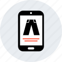 ecommerce, jean, online, shop, shopping icon