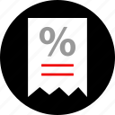 ecommerce, online, receipt, shop, shopping icon