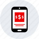 dollar, ecommerce, online, shop, shopping icon