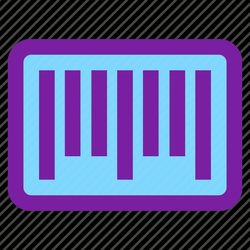 barcode, code, scan, shopping icon