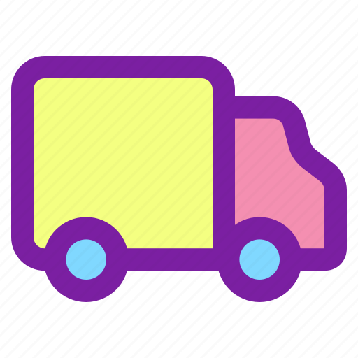 delivery, shipping, shopping, truck icon