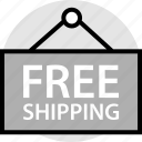 free, ship, shipping icon