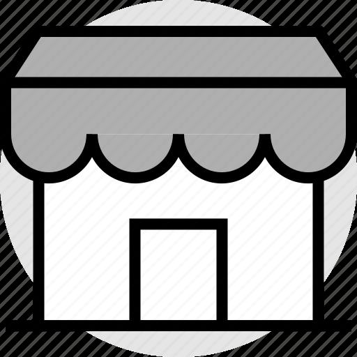 merchandise, shopping, store icon