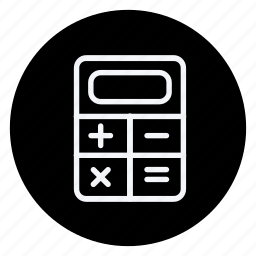 calculator, finance, money, shop, shopping, store icon