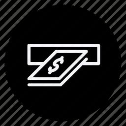 atm, cash, finance, money, shop, shopping, store icon