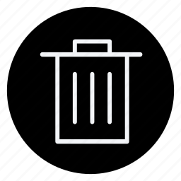 delete box, finance, money, rubbish bin, shop, shopping, store icon