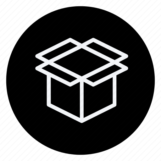 box, finance, money, open box, shop, shopping, store icon