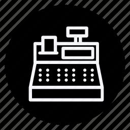 cash mashine, cash register, finance, money, shop, shopping, store icon