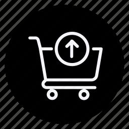 cart, finance, money, shop, shopping, shopping trolley, store icon