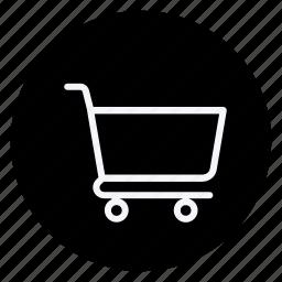 cart, finance, money, shop, shopping, shopping trolley, trolley icon