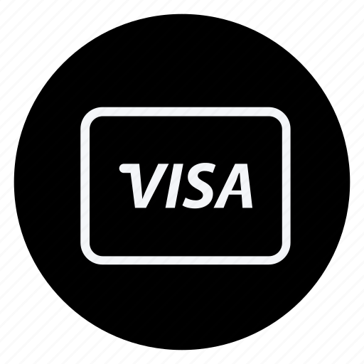 card, finance, money, shop, shopping, store, visa card icon