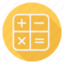 business, calculator, finance, money, shop, shopping, store icon