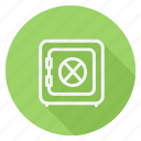 finance, lock, money, safebox, shield, shop, shopping icon