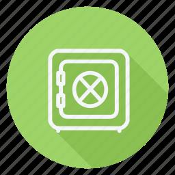 finance, lock, money, safebox, shield, shop, shopping icon