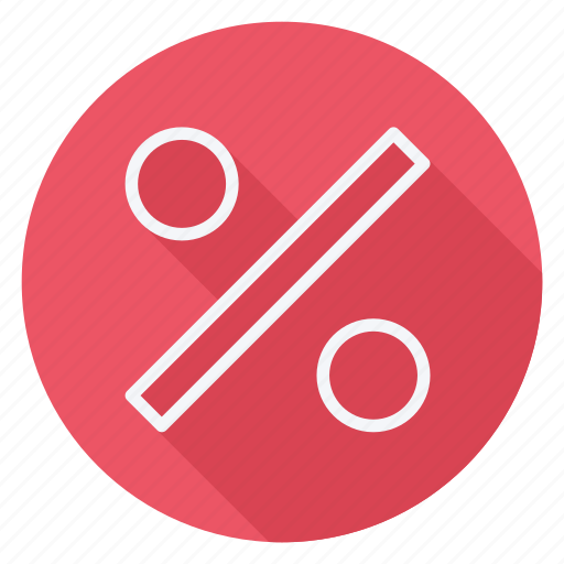 discount, finance, money, percentage, shop, shopping, store icon