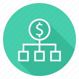 dollar, finance, hierarchy, money, shop, shopping, store icon