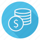 currency, dollar, finance, money, shop, shopping, store icon