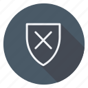 finance, lock, money, shield, shop, shopping, store icon