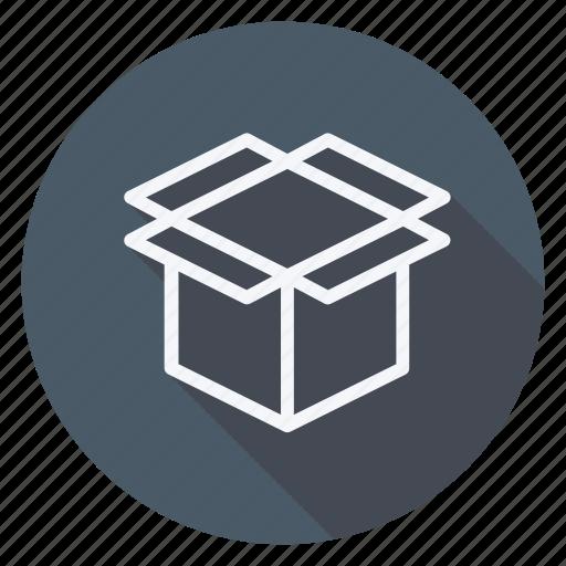 box, empty box, finance, money, shop, shopping, store icon