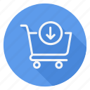cart, finance, money, product in, shop, shopping, store icon