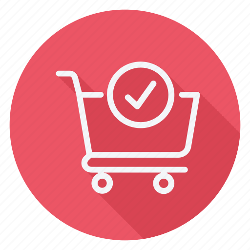 cart, check, finance, money, shop, shopping, store icon