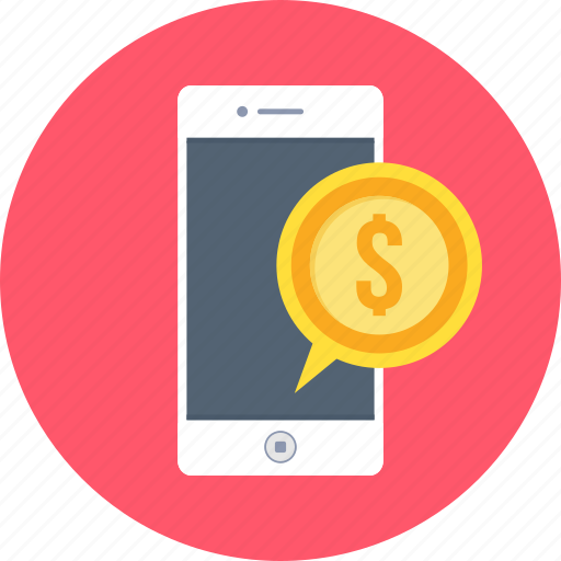 business, mobile, payment, phone, smartphone icon