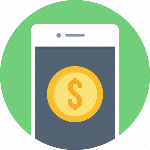 mobile, payment, phone, smartphone icon