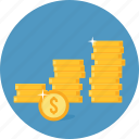 business, finance, income, money, profit, revenue icon