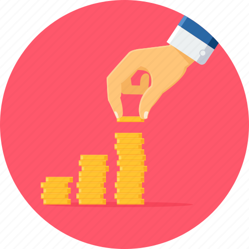 business, finance, investment, plan, profit, revenue icon